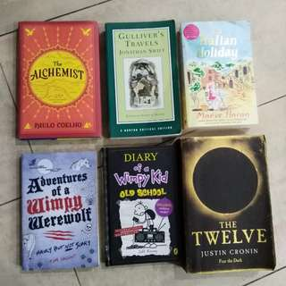 Various Fiction Books (Used)