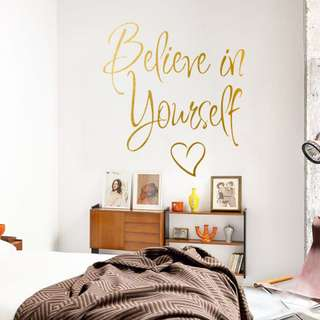 Wall Sticker - Believe In Yourself