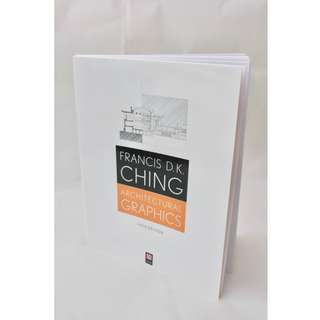 Architectural Graphics by Francis D. K. Ching; Paperback; 5th Edition