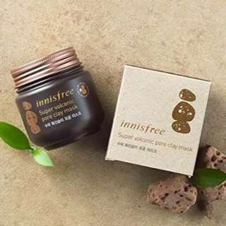 FREE ONGKIR Innisfree Super Volcanic Clay Mask
