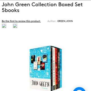 John Green Collection Boxed Set 5 Books