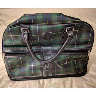 Plaid pattern Bag