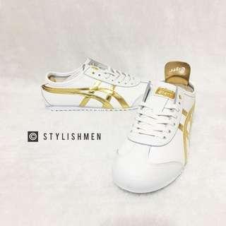 Onitsuka Mexico 66 White Gold Sneaker