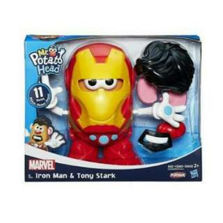Mr Potato Head Iron Man and Tony Stark Playskool