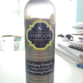 HASK Charcoal with citrus oil 355ml (OPENED)