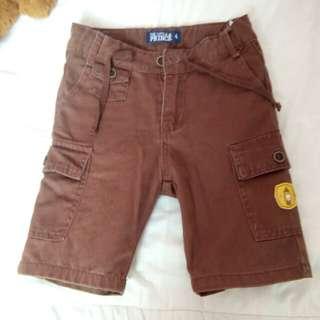Soft jeans cargo short