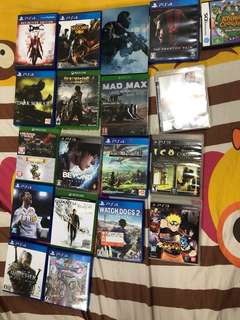 Ps4 games xbox one games ps3 games