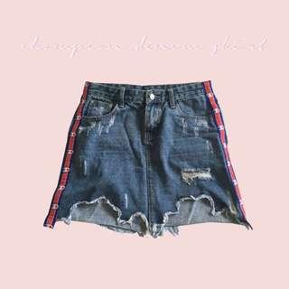 Champion Denim Skirt