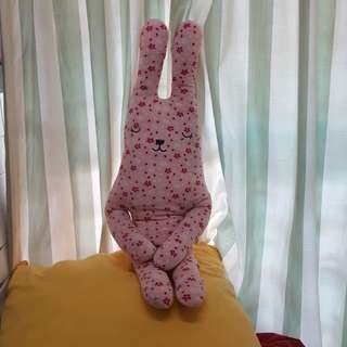 Pink sakura bunny