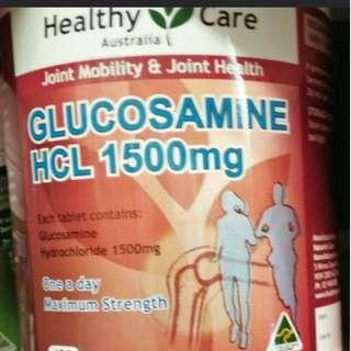 Healthy Care Glucosamine 1500mg - 400 Capsules