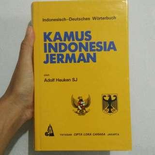 Kamus Indonesia Jerman Hardcover