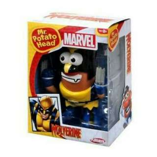 Wolverine Mr Potato Head Marvel Playskool