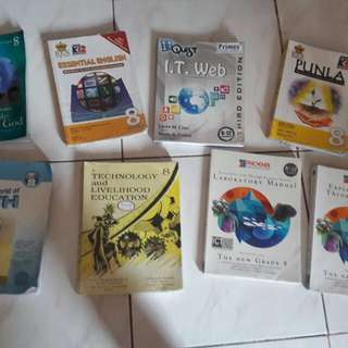 Grade 8 Books bundle