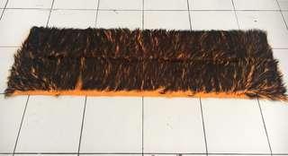 alas dashboard orange hitam / bulu dashboard hitam orange / cover dashboard hitam orange