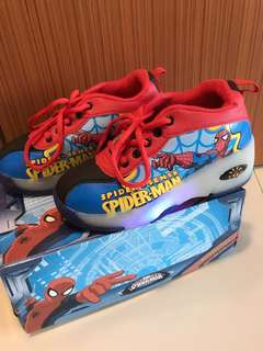 Spider-Man Sneakers With Wheels $35