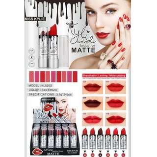 Kylie lipstick 24 pcs