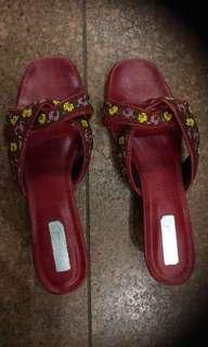 Peranakan Nyonya kasut Manik beaded shoes