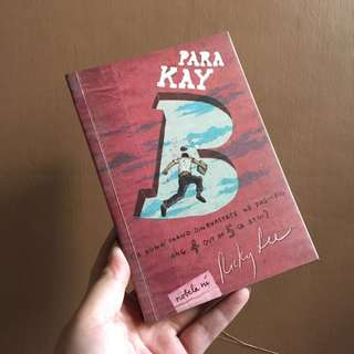 Para Kay B (Ricky Lee)