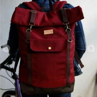 Ransel Firefly Raven Maroon Laptop Bag