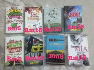 Novel second hand / preloved