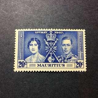 Mauritius  20c 郵票一個