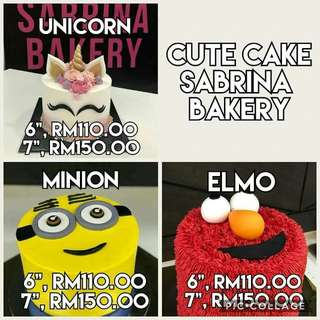 Kek Harijadi Cute Cake