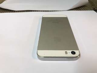 IPhone 5s silver 64gb no dents