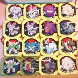 pokemon tretta card pk