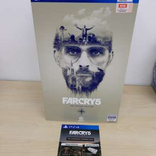 (Brand New) PS4 Far Cry 5 The Father Edition with Bonus Downloadable Contents and EZ Link Card / R3 (Sold Out)