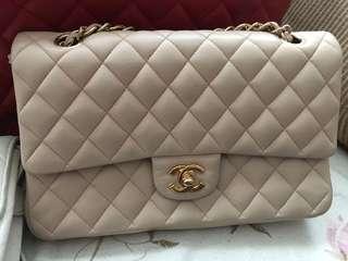 Chanel Beige classic flap