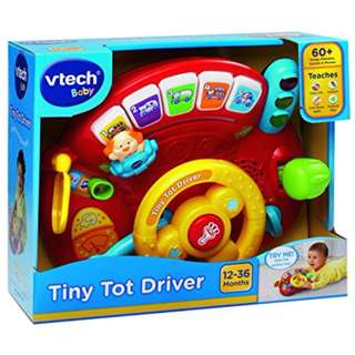 Vtech Baby Vtech Tiny Tot Driver (Box is Damaged)