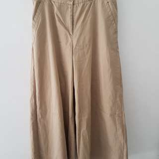 Wide Pants / Preloved Khaki Pants