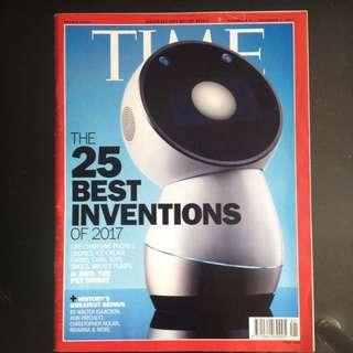 TIME Magazine November 27 - December 4, 2017