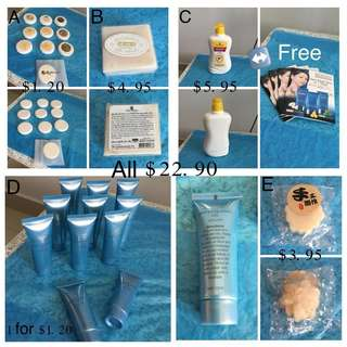 Set Of All Skin Care Items
