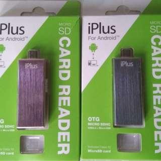 Micro SD Card Reader OTG (USB/Micro USB)
