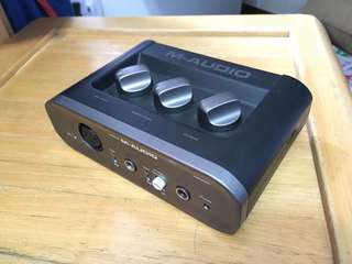 M-audio fast track 錄音介面
