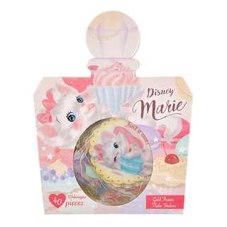 日本 Disney Store 直送 Marie 富貴貓包裝貼紙