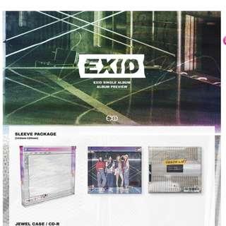 [PO] EXID - Do It Tomorrow Single Album