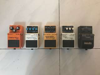 BOSS Guitar Effects