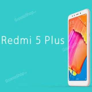 Xiaomi Redmi 5 Plus, Kredit Dp 15% 20mnt langsung cair barang