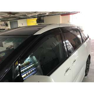 Toyota Estima Window Visors
