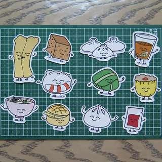 Dim Sum Friends Stickers