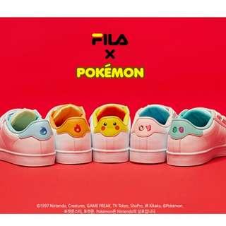 Fila x Pokemon Court Deluxe