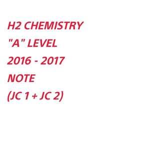 ∆ H2 CHEM NOTE SOFTCOPY