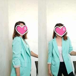 Light blue corporate attire
