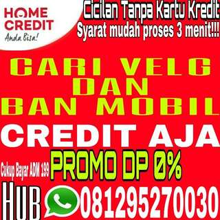 Cari velg mobil credit aja