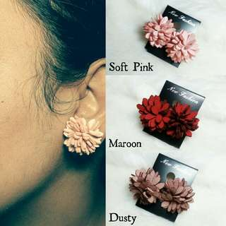 Anting Stud Suede (PO)