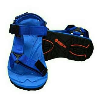 Sandal Gunung Suzuran Slop Mr1 Full Blue