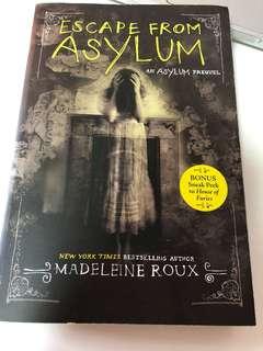 Escape from asylum- Madeleine Roux
