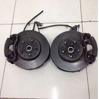 Toyota Wish Brake Caliper & Rotor Disc (SP1012)